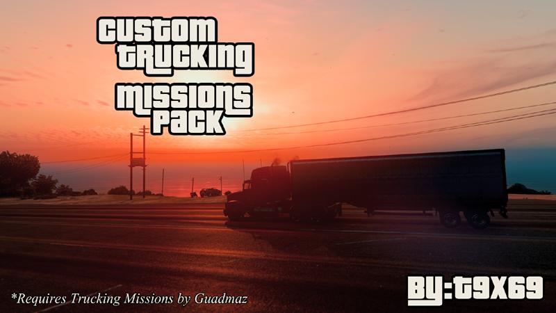Custom Trucking Missions Pack