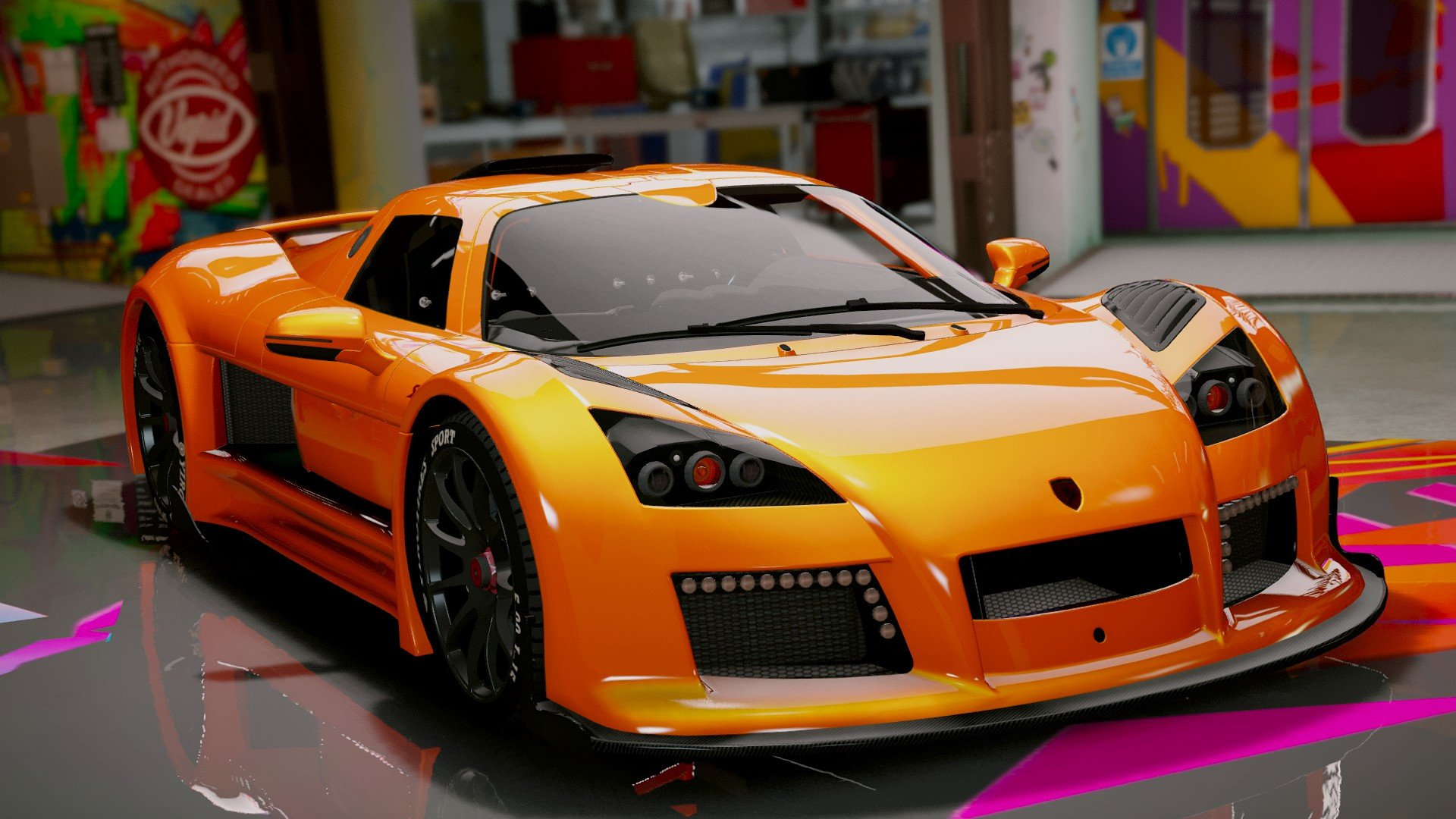 gumpert apollo s v hicules t l chargements gta 5. Black Bedroom Furniture Sets. Home Design Ideas