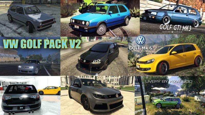 Volkswagen Golf Add-On Pack [Mk1-Mk7]