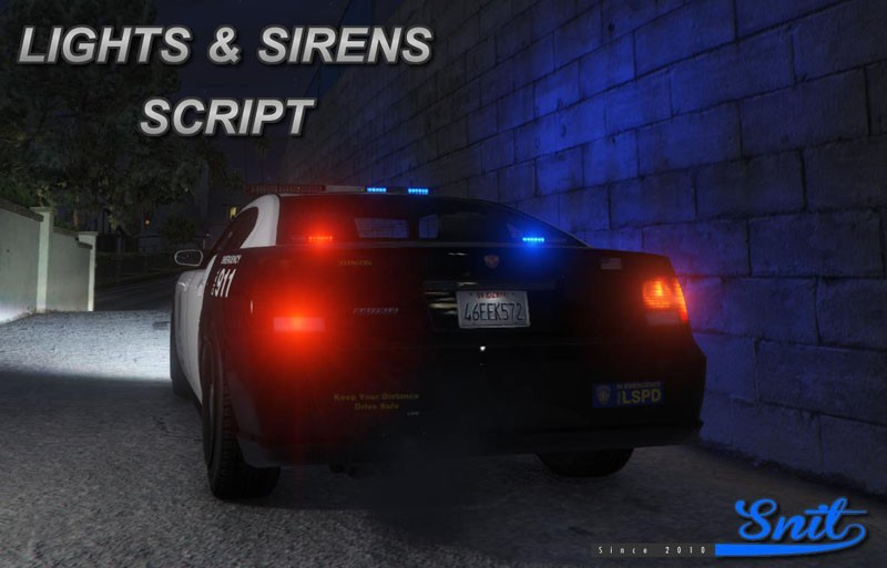 Lights and Sirens Script