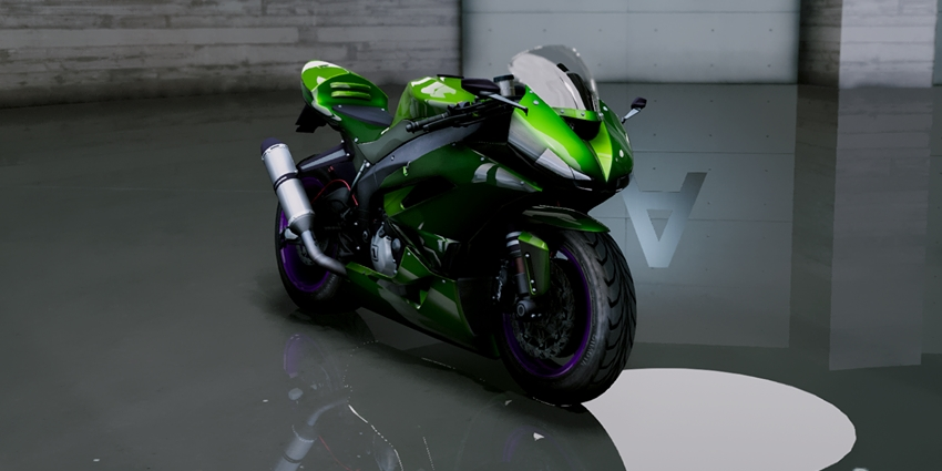 Kawasaki Ninja ZxR Modified