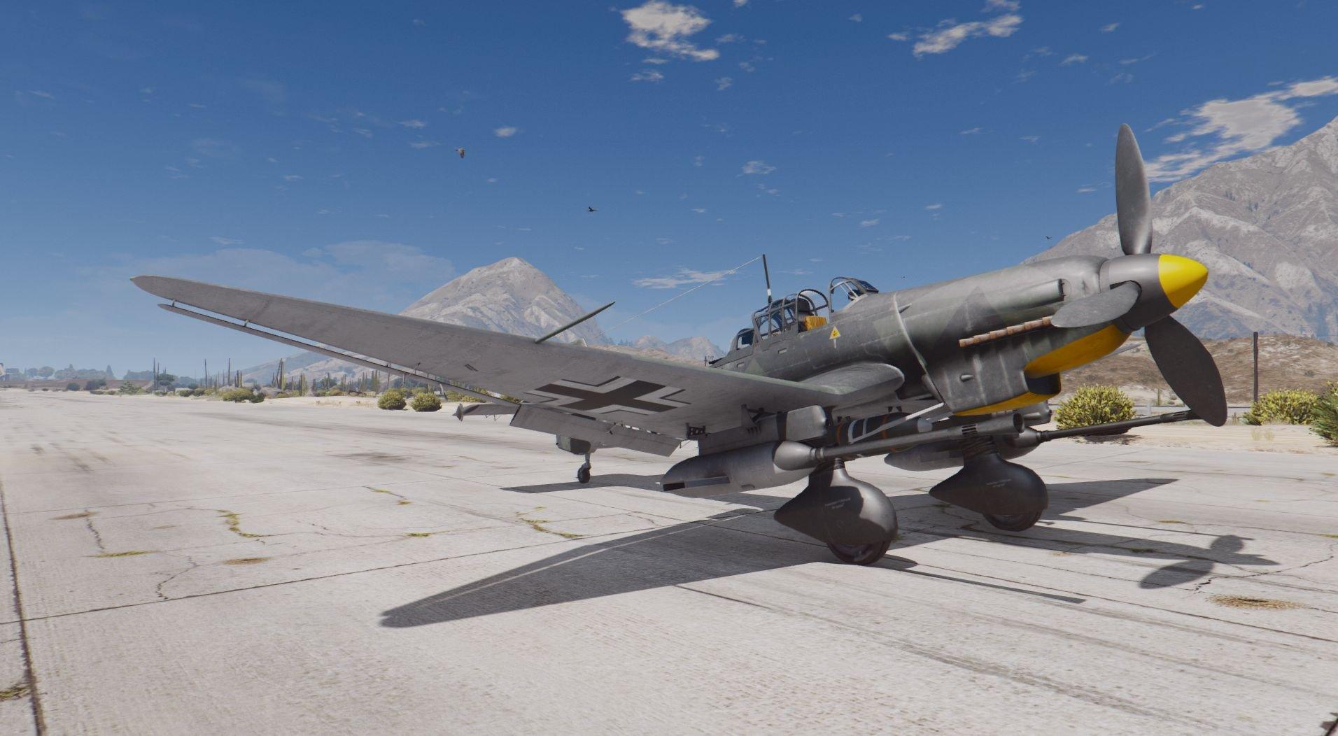 Stuka Ju-87D & Ju-87G2