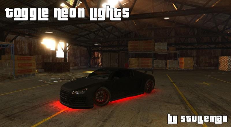 Toggle Neon Lights