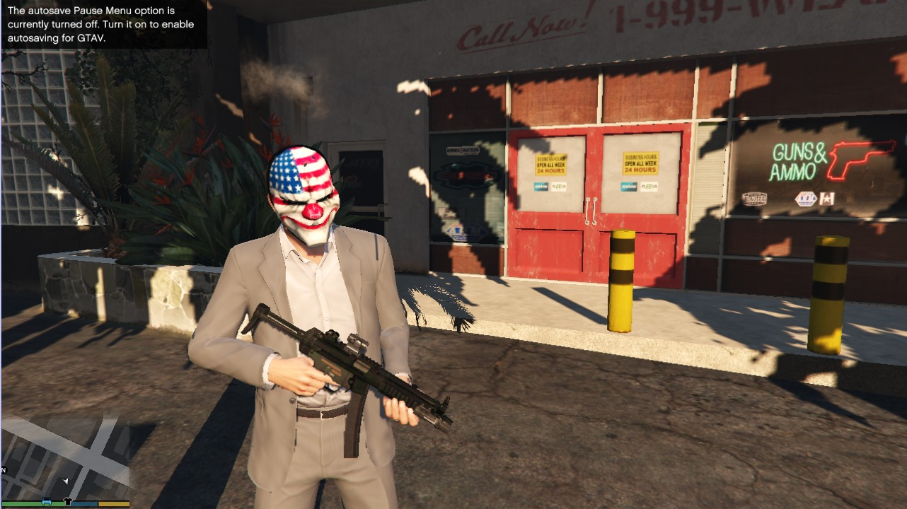 PAYDAY 2 MP5A5