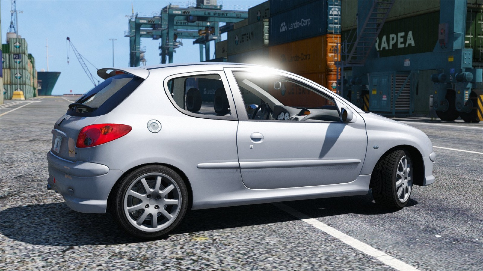 peugeot 206 gti v hicules t l chargements gta 5. Black Bedroom Furniture Sets. Home Design Ideas