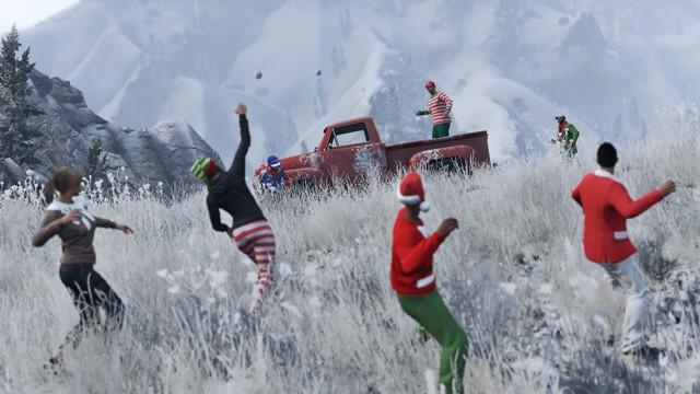 Snowballs in Singleplayer
