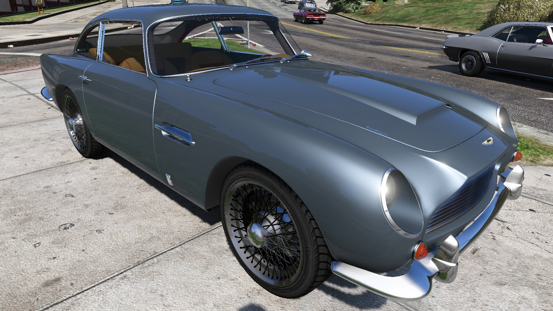 aston martin db5 in gta 5 with 2596 Aston Martin Db5 Vantage 1964 on Diarama further Watch together with Watch likewise Game moreover The Real Life Cars In The Grand Theft Auto 5 2nd Trailer.