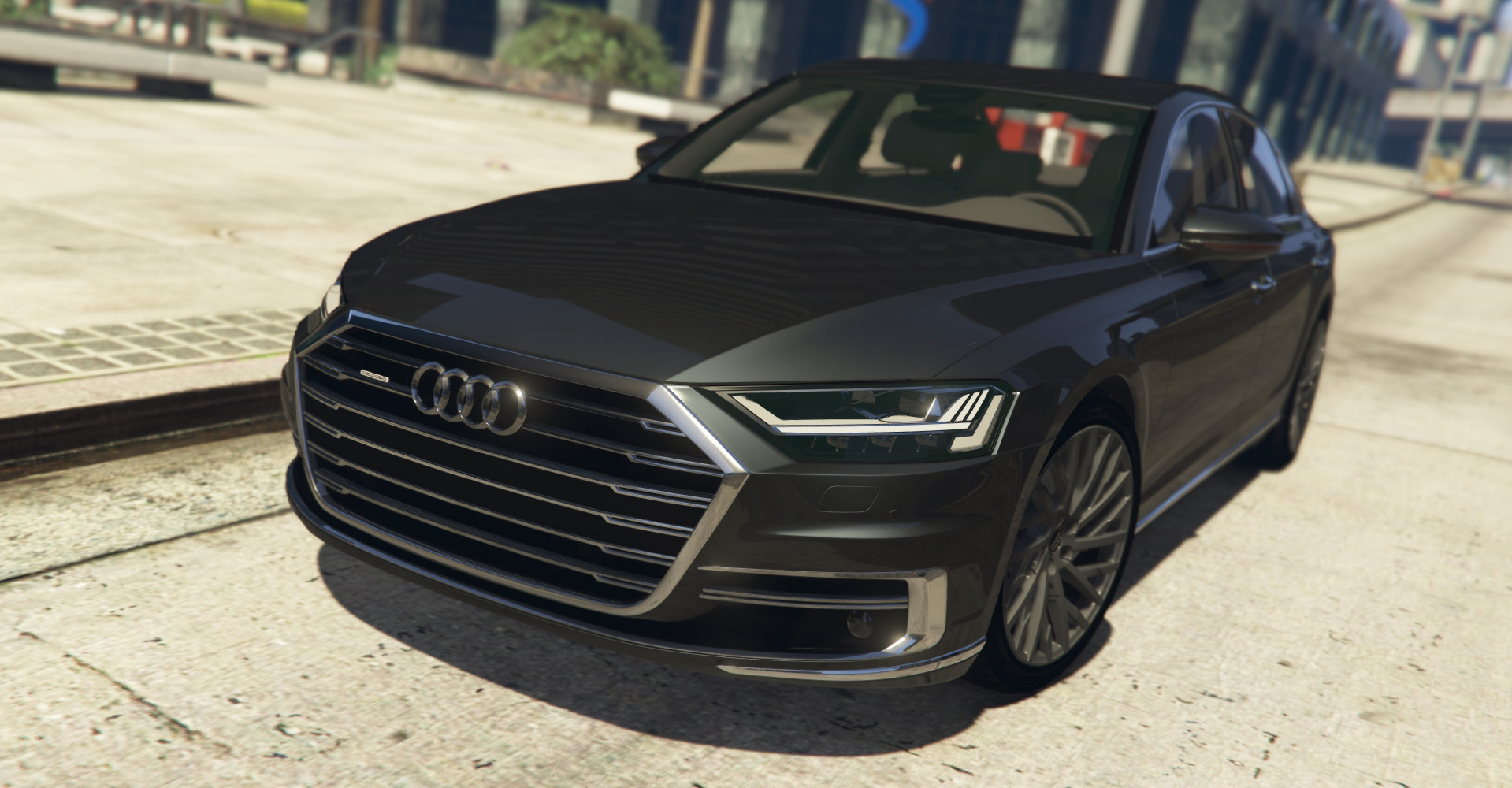 audi a8 2018 v hicules t l chargements gta 5. Black Bedroom Furniture Sets. Home Design Ideas