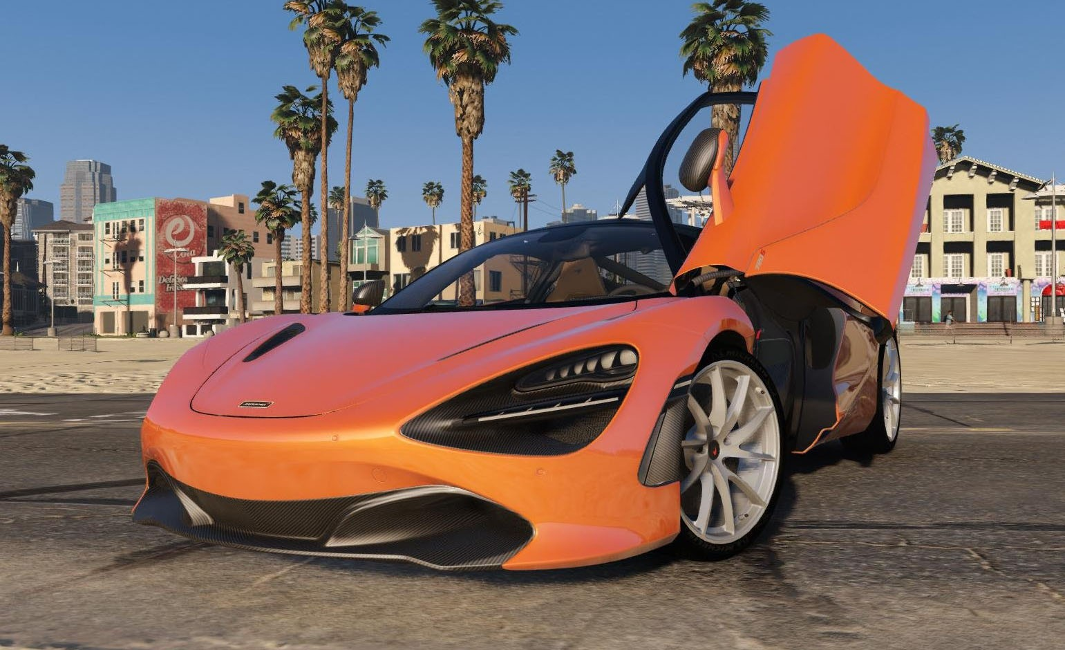 mclaren 720s 2018 v hicules t l chargements gta 5. Black Bedroom Furniture Sets. Home Design Ideas