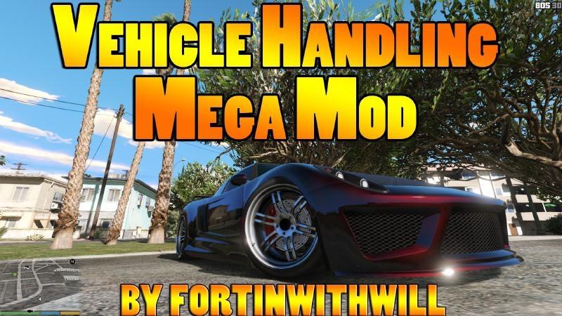 Vehicle Handling Mega Mod 150+ Vehicles