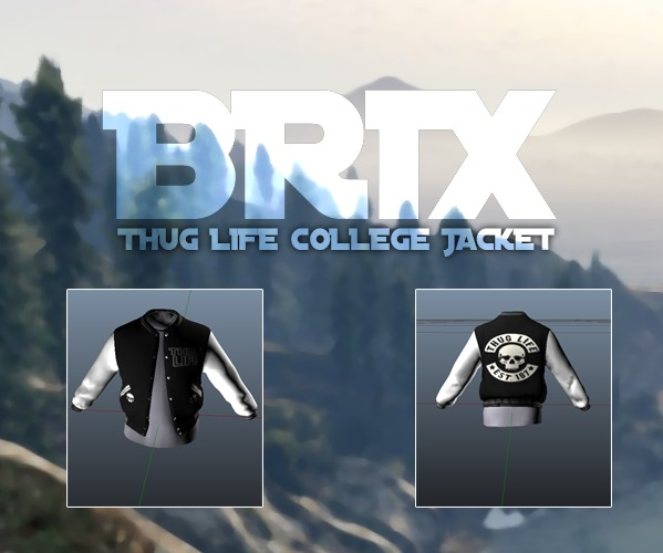 Thug Life College Jacket