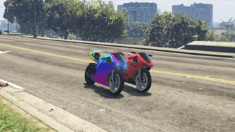 Bati801 Rainbow Mod + Smoke Lights