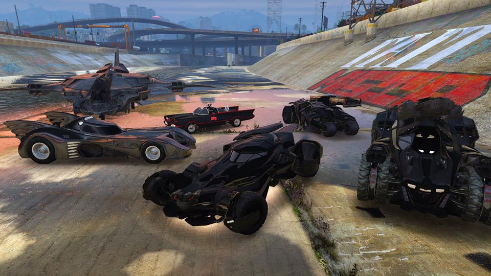 Batman Vehicles Add-On Pack