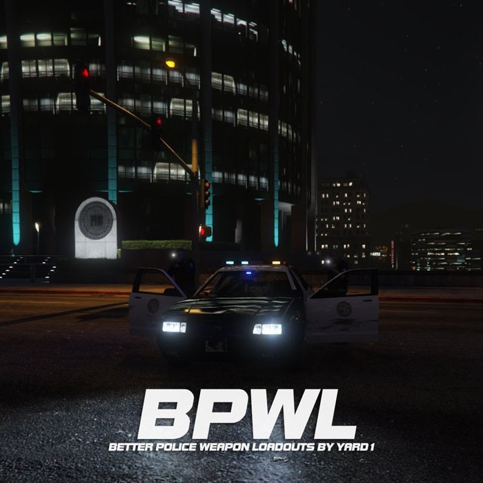 Better Police Weapon Loadouts