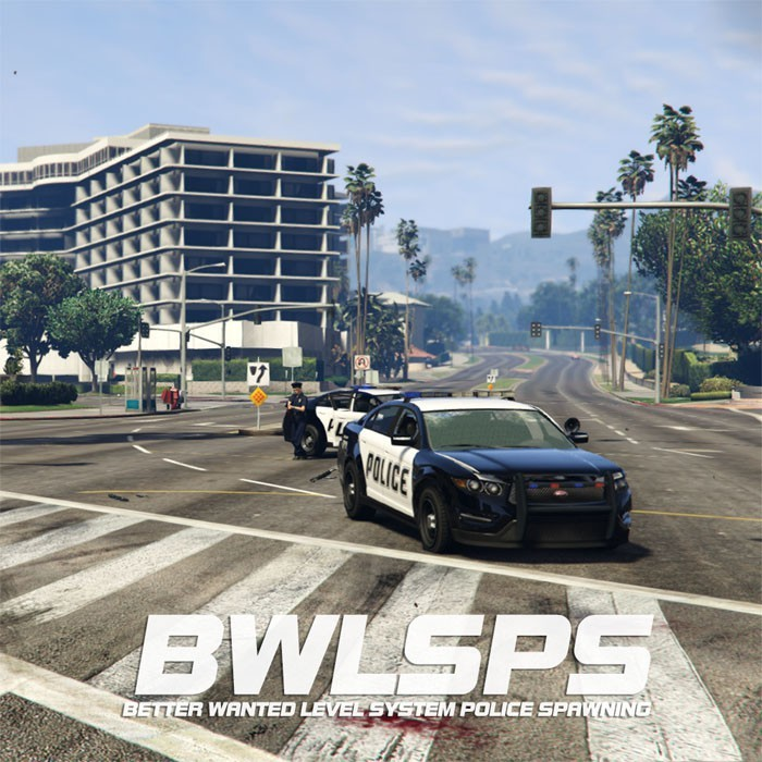 Better Wanted Level System Police Spawning