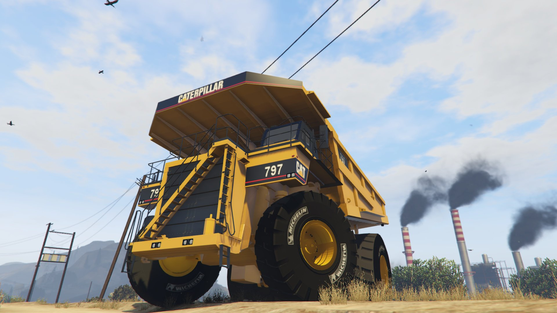CAT 797 Dumper