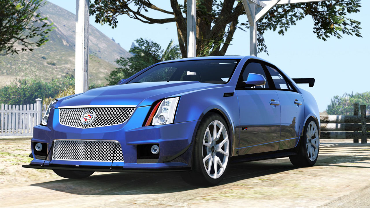 cadillac cts v 2009 v hicules t l chargements gta 5. Black Bedroom Furniture Sets. Home Design Ideas