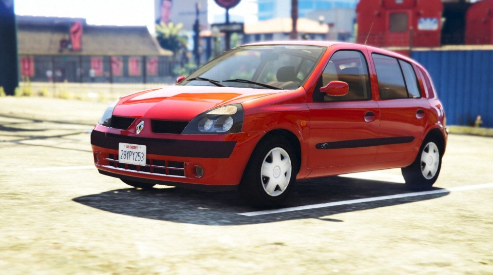 renault clio ii v hicules t l chargements gta 5. Black Bedroom Furniture Sets. Home Design Ideas