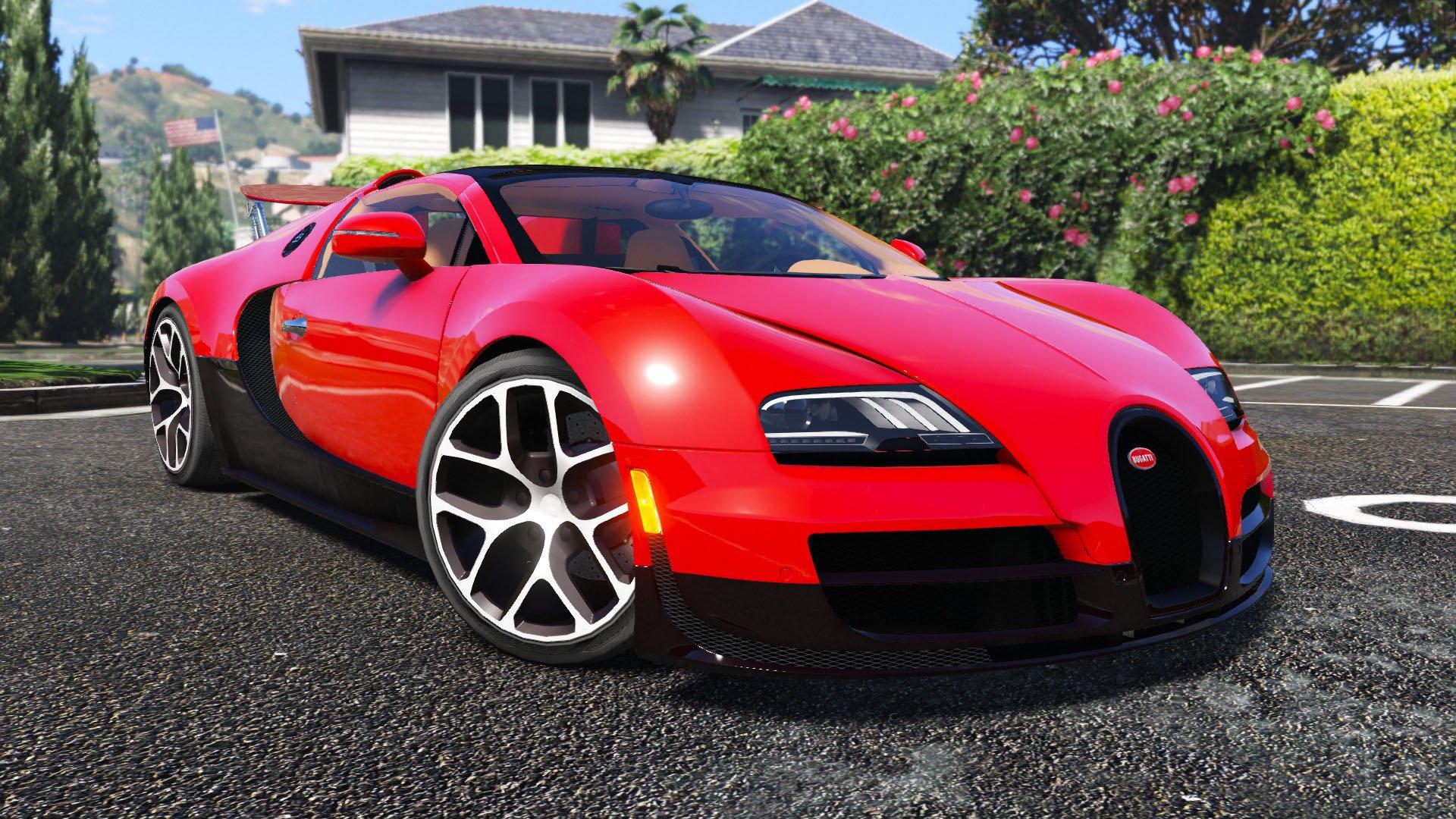 bugatti veyron vitesse pack v hicules t l chargements gta 5. Black Bedroom Furniture Sets. Home Design Ideas
