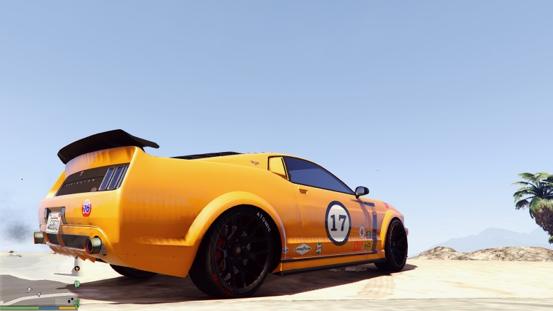 Mustang Trans-Am Livery for Dominator