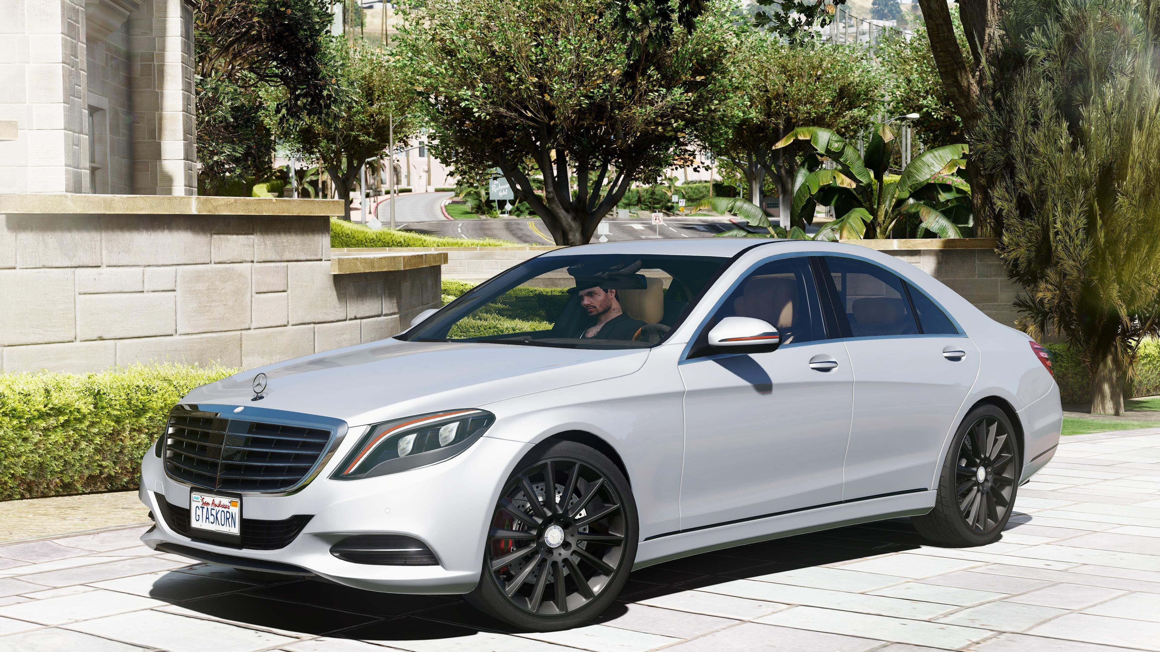 Mercedes-Benz S500 W222 - Véhicules - Téléchargements GTA 5