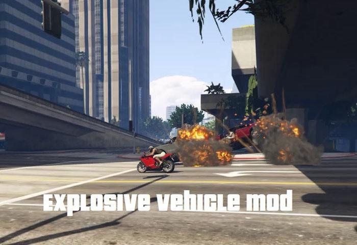 Explosive Vehicle Mod