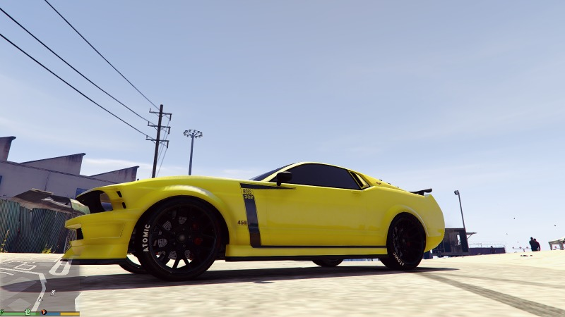 Mustang Boss 302 Livery for Dominator