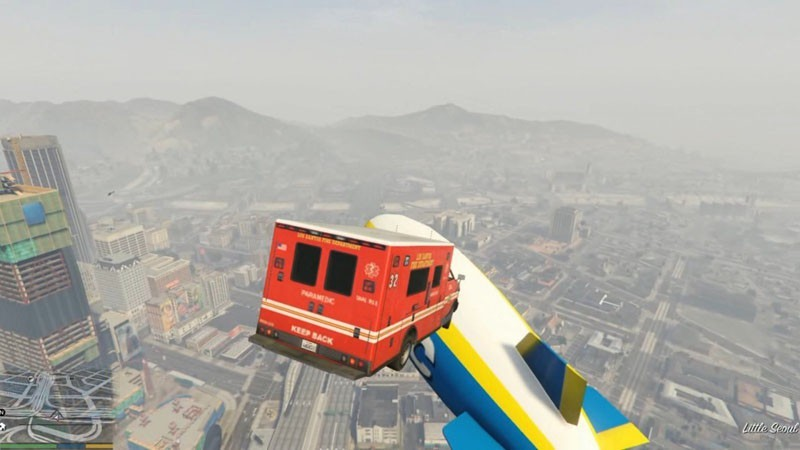 Flying Ambulance and Vacca