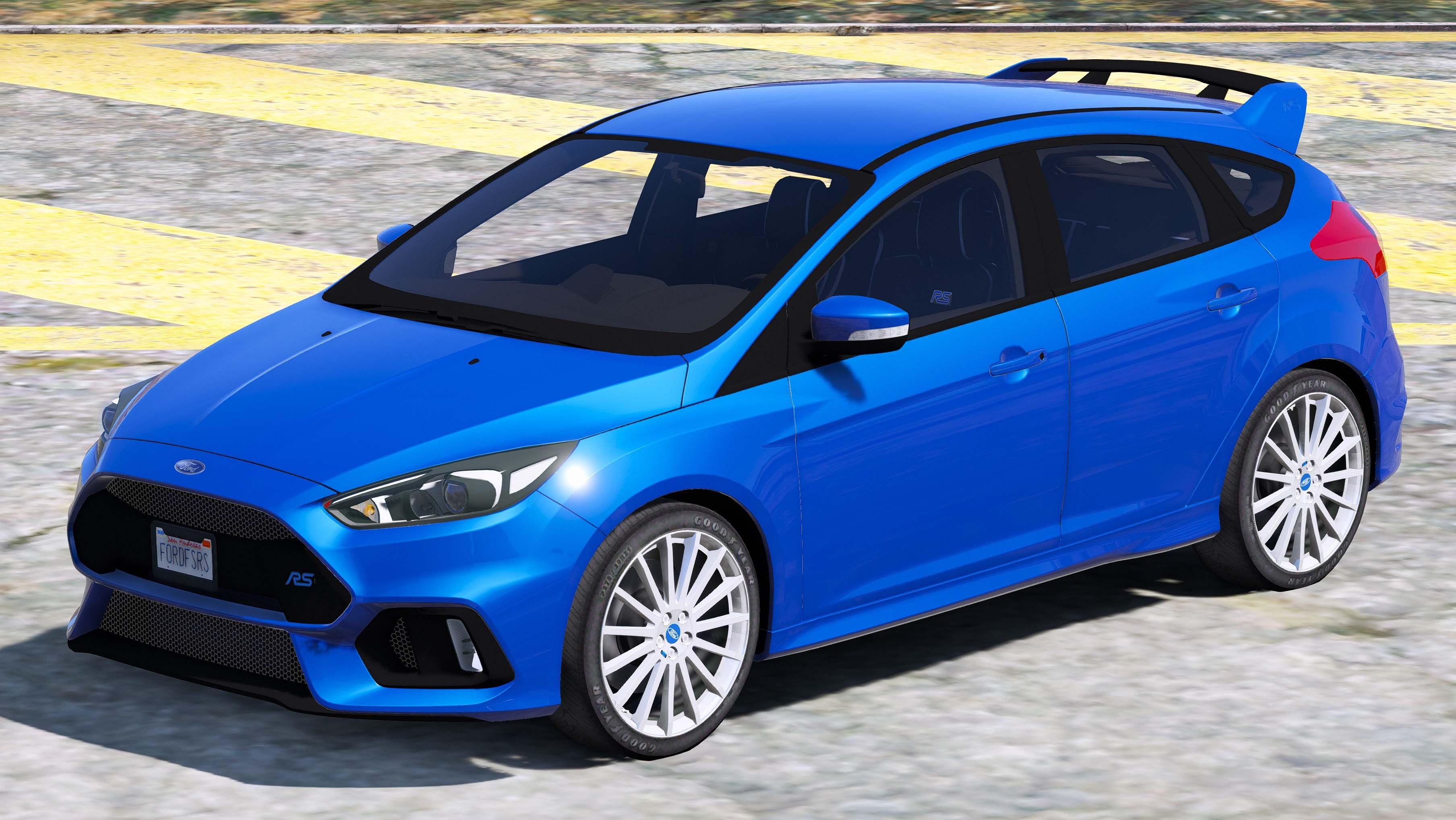 ford focus rs 2016 v hicules t l chargements gta 5. Black Bedroom Furniture Sets. Home Design Ideas