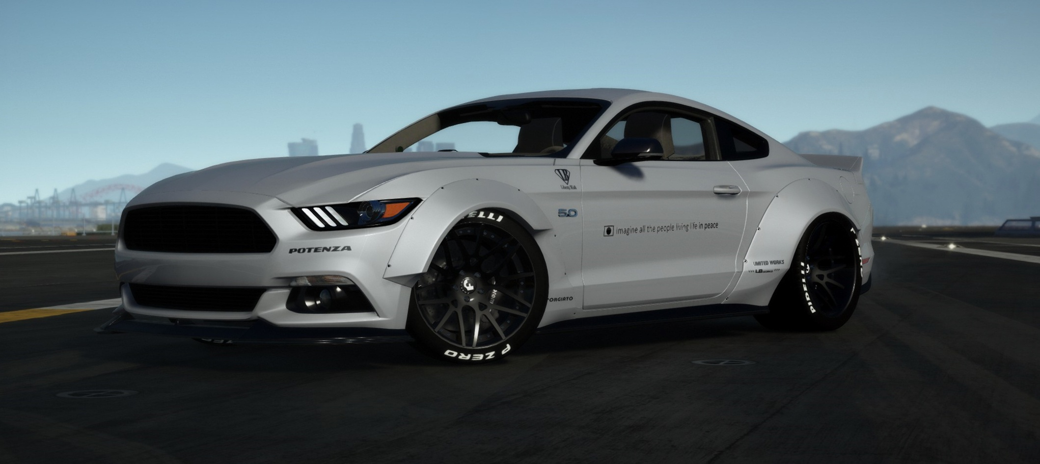 Ford Mustang GT LibertyWalk 2015