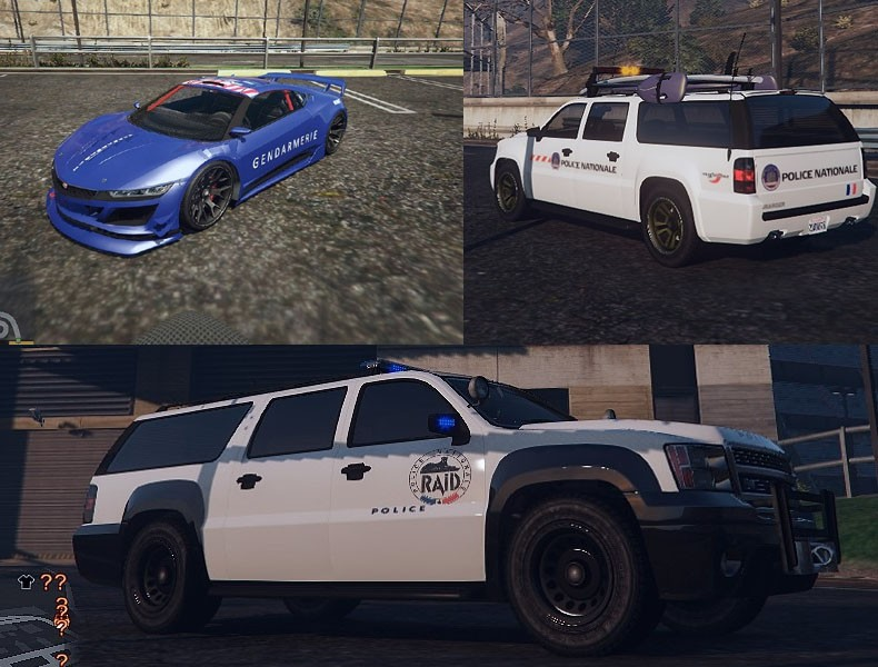 French Emergency Services Texture Pack