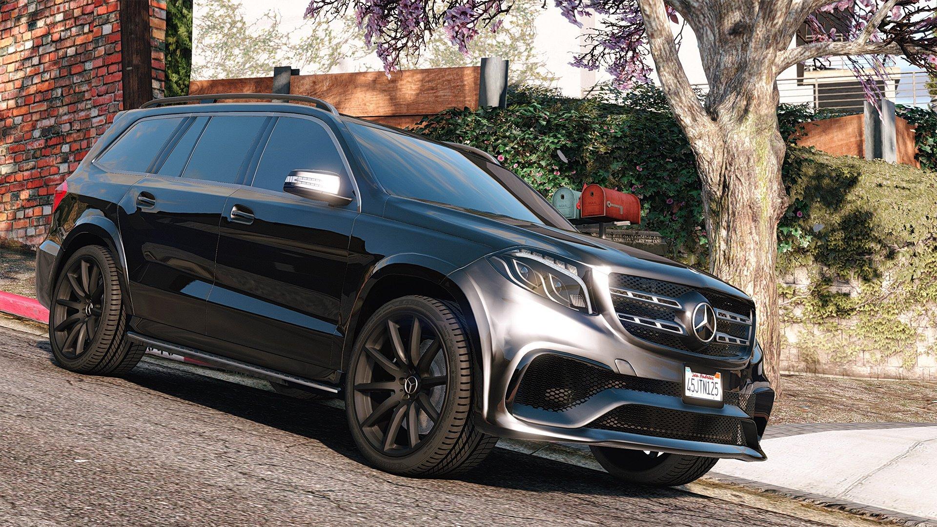 Mercedes-Benz GLS 63 AMG 2015