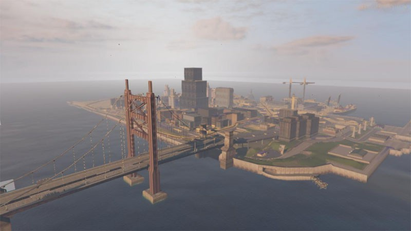 Liberty City III dans GTA 5
