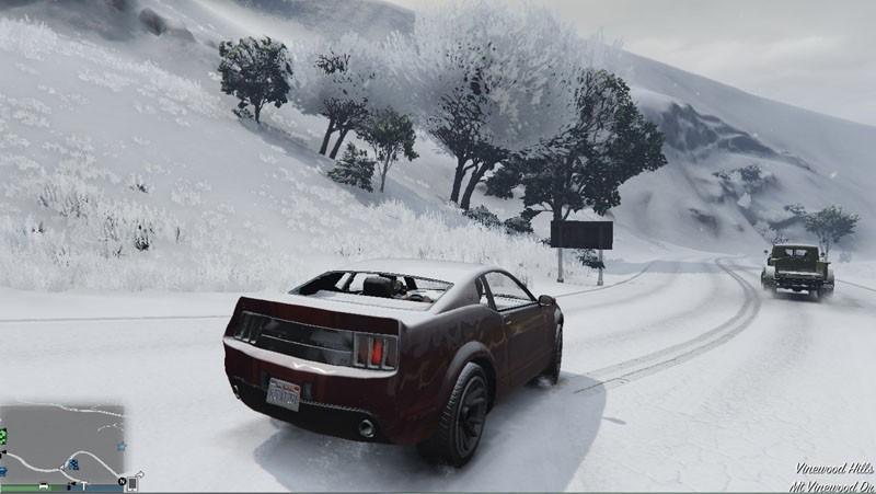 GTA 5 Online Snow Mod