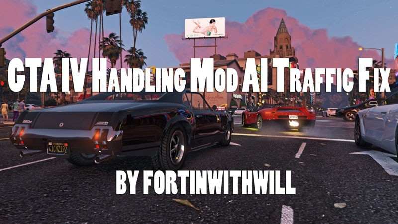 GTA IV Handling Mod AI Traffic Fix