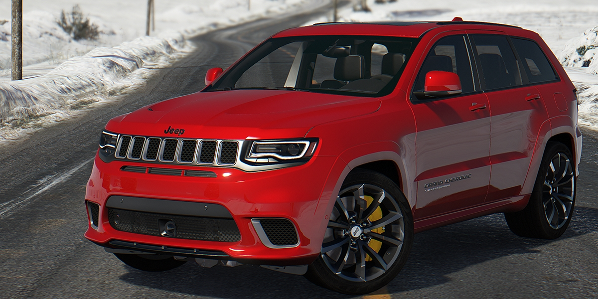 Jeep Grand Cherokee Trackhawk Series IV 2018