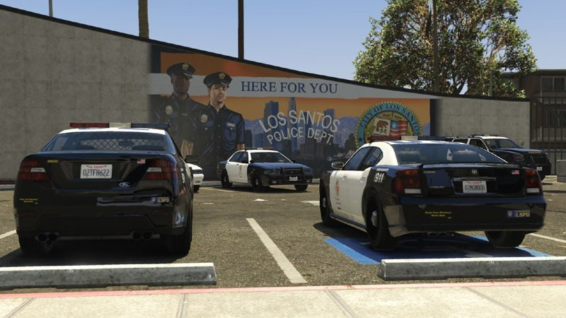 Los Angeles Police / Sheriff Logos - Realism Mod