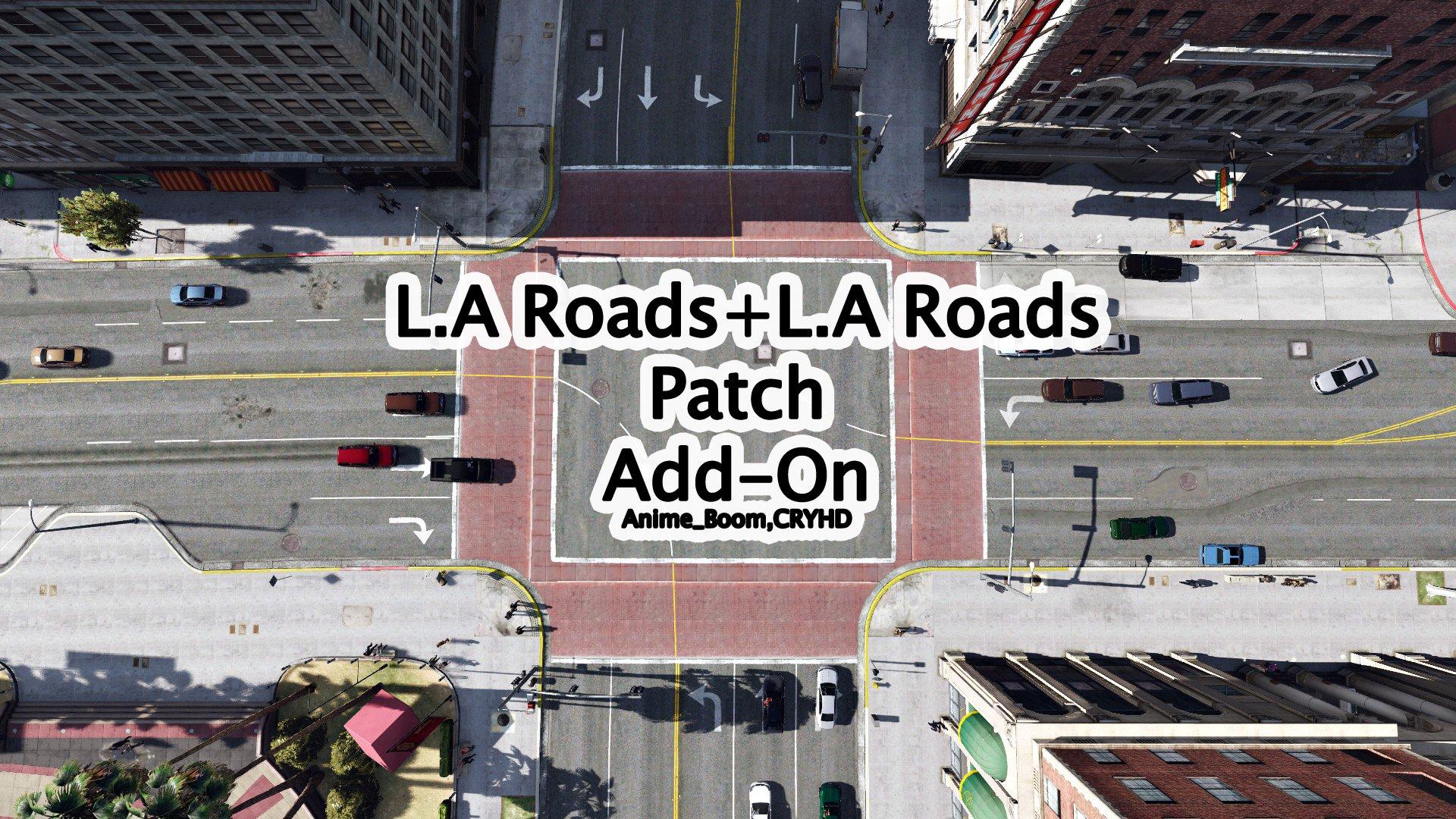 L.A. Roads + L.A. Roads Patch