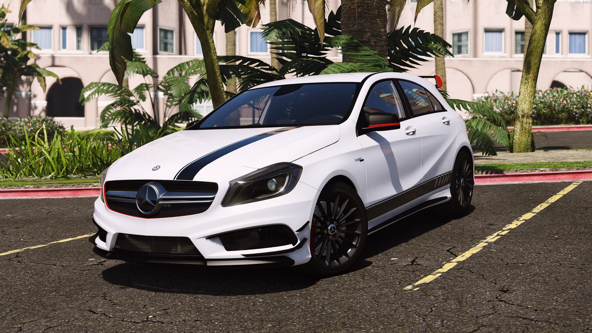 mercedes benz classe a 45 amg edition 1 v hicules t l chargements gta 5. Black Bedroom Furniture Sets. Home Design Ideas