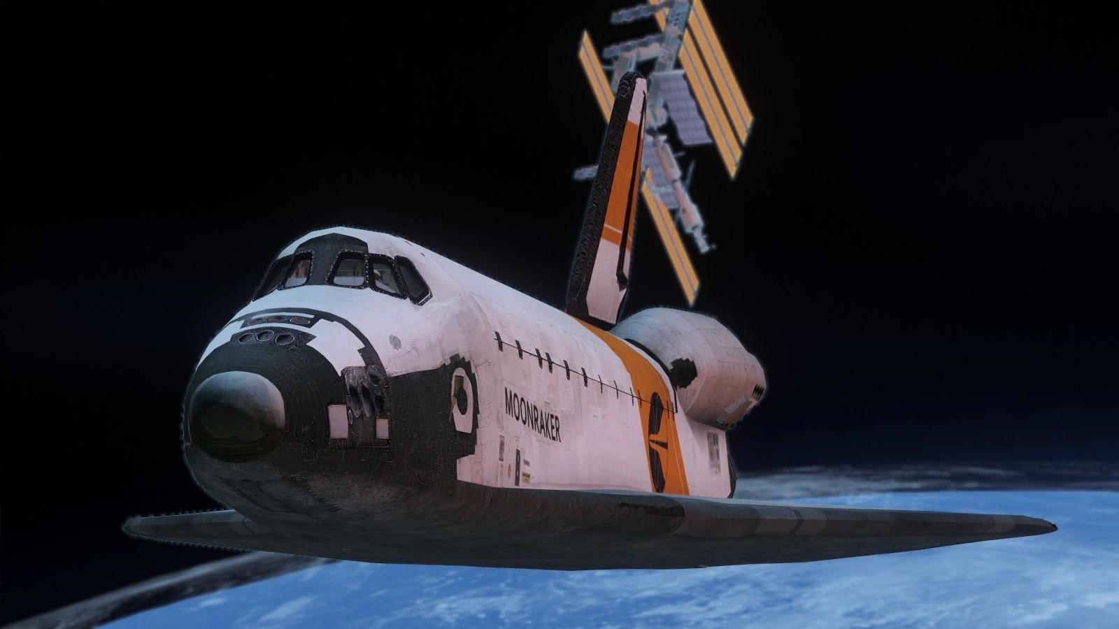 James Bond Moonraker Shuttle