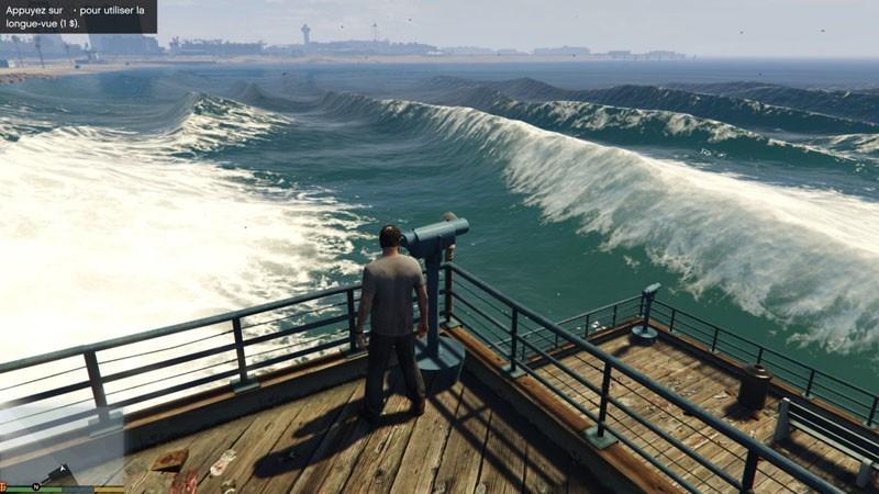Natural Bigger Waves (Vagues plus grosses)