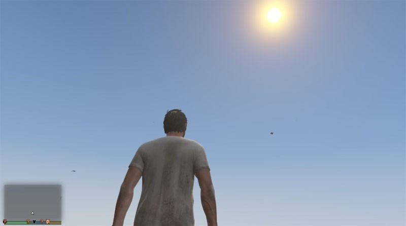 3rd Person Without Lens Flare
