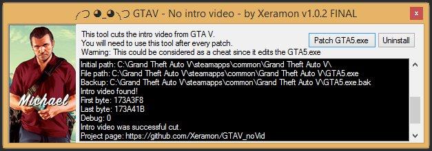 GTA V No intro video