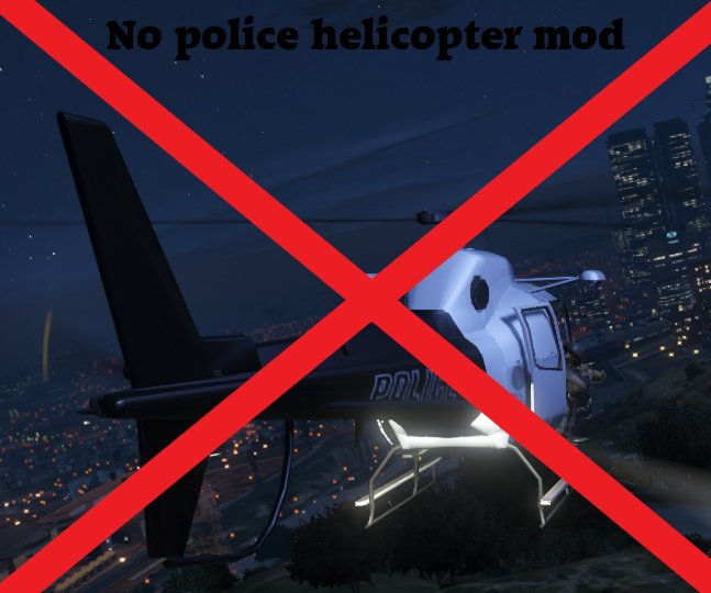 No Police Helicopter