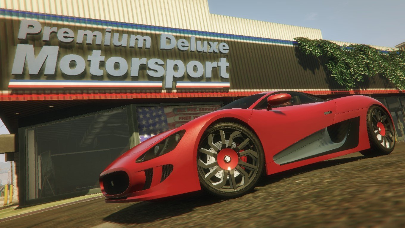 Premium Deluxe Motorsport Car Shop