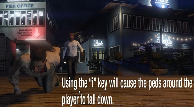 Player/Peds Ragdoll Mod