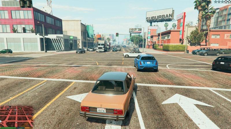 Plus de piétons et de trafic dans GTA 5