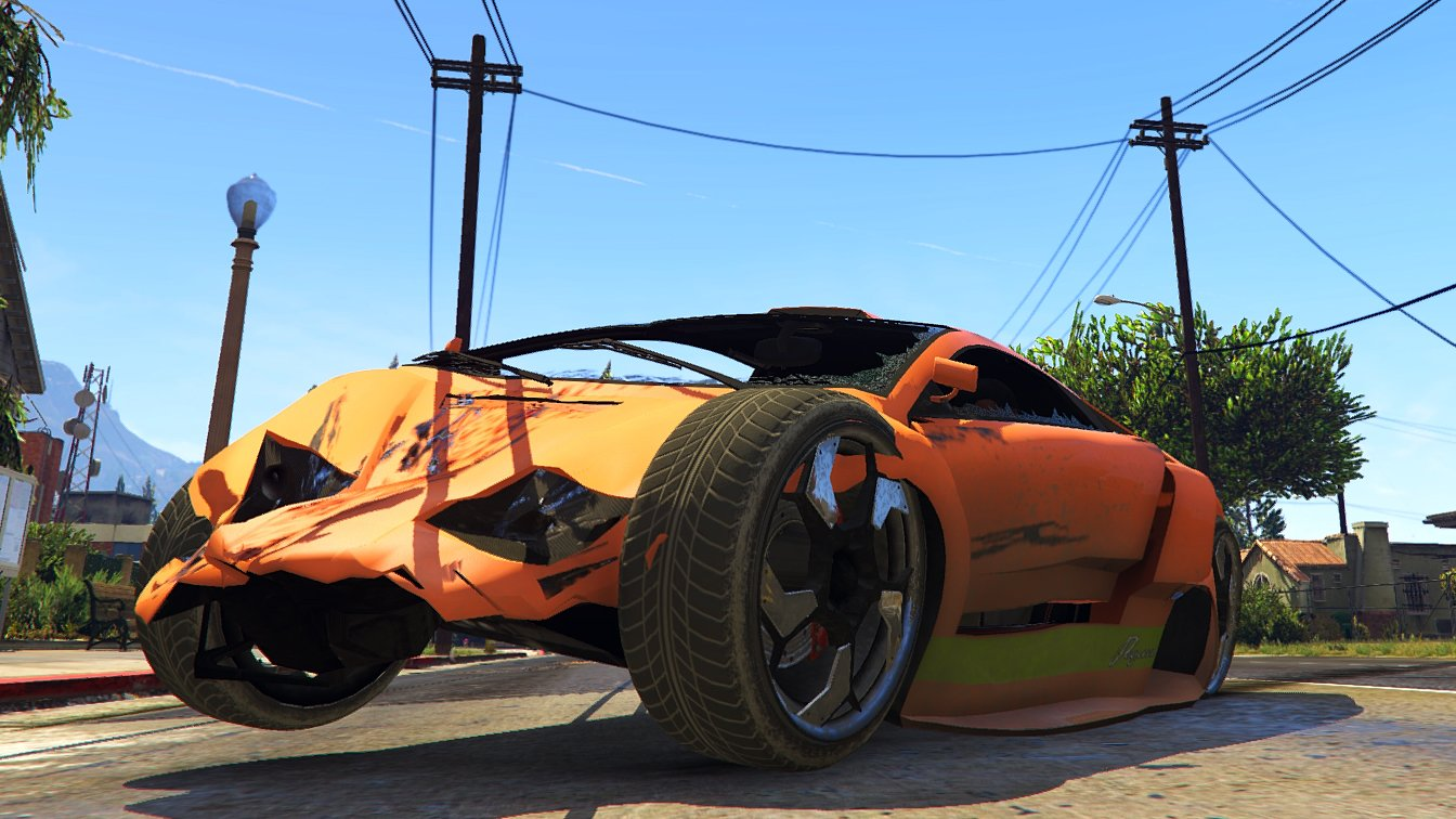 Realistic Vehicle Deformation