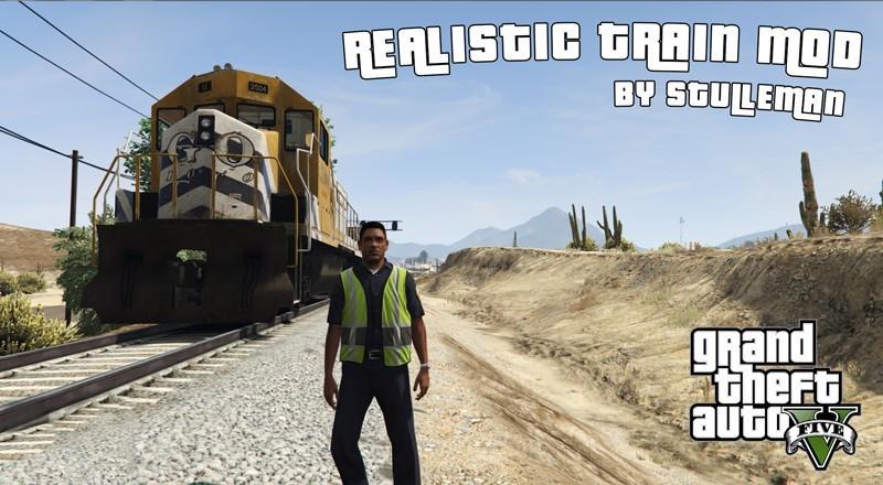 Realistic Train Mod