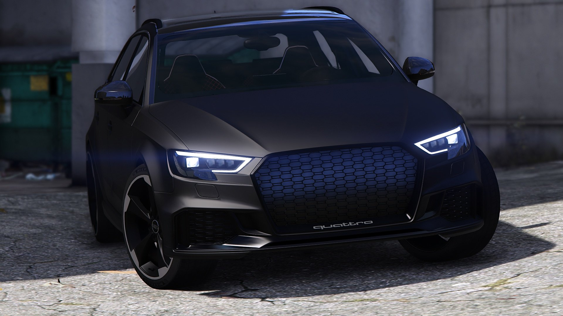 audi rs3 sportback 2018 v hicules t l chargements gta 5. Black Bedroom Furniture Sets. Home Design Ideas